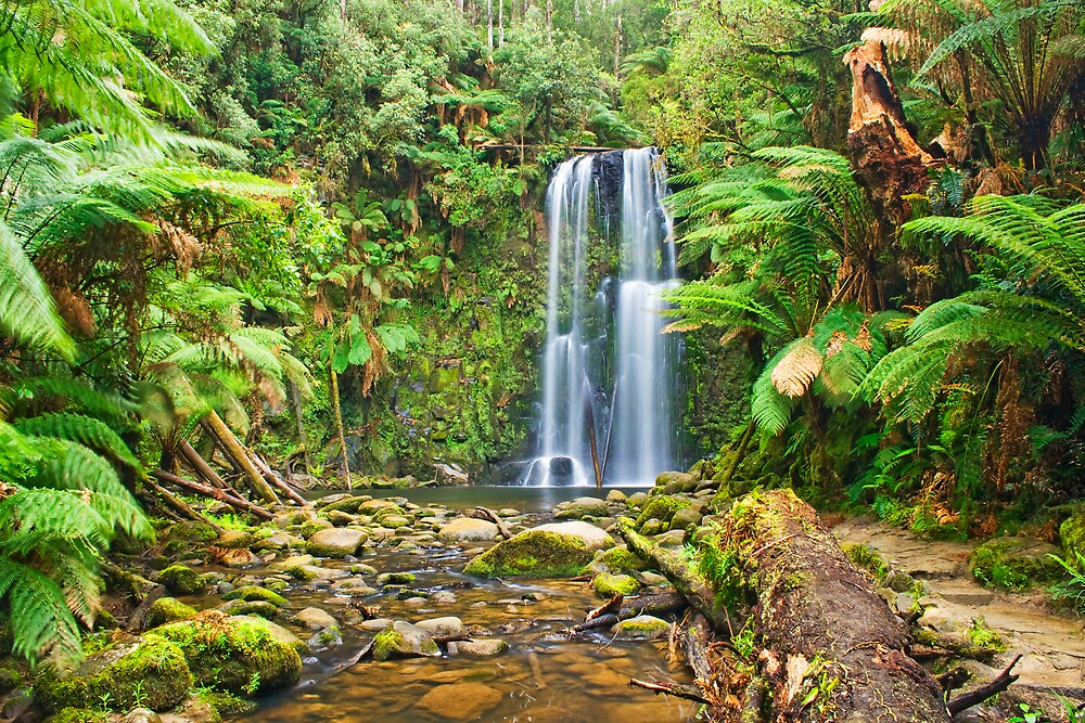 Beauchamp Falls during drought by Andrew Klym