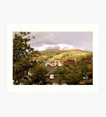 Hillsides Art Print