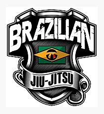 BRAZILIAN JIU JITSU 1 - MARTIAL ART Photographic Print