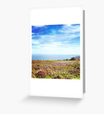 Exmoor Heather Greeting Card