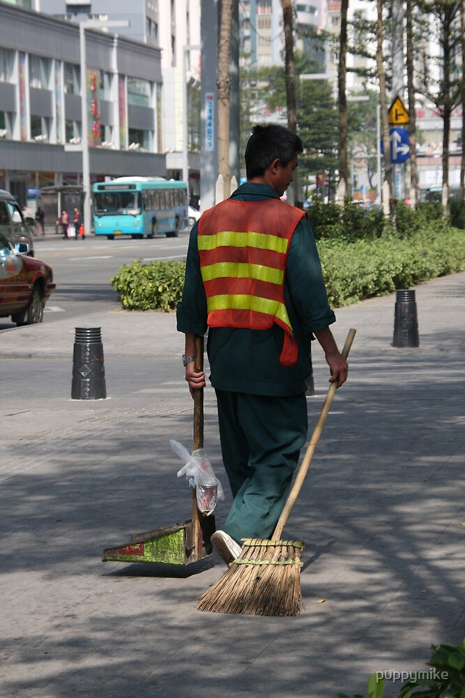Street Cleaner by puppymike