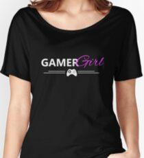 gamer girl white edition Women's Relaxed Fit T-Shirt