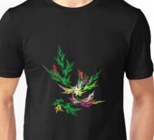 Fractal Leaves Unisex T-Shirt