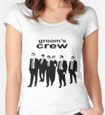 Groom's Crew Women's Fitted Scoop T-Shirt