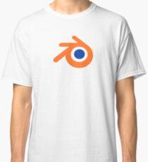 blender logo 3d design Classic T-Shirt