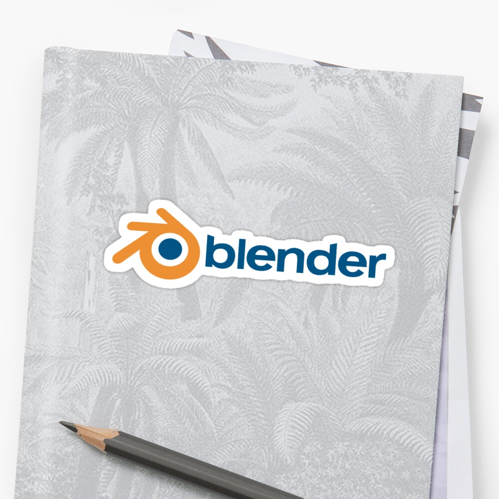 «blender horizontal logo» de yourgeekside