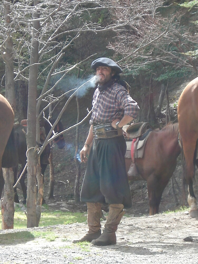 Chilean Cowboy by Zac Gillett