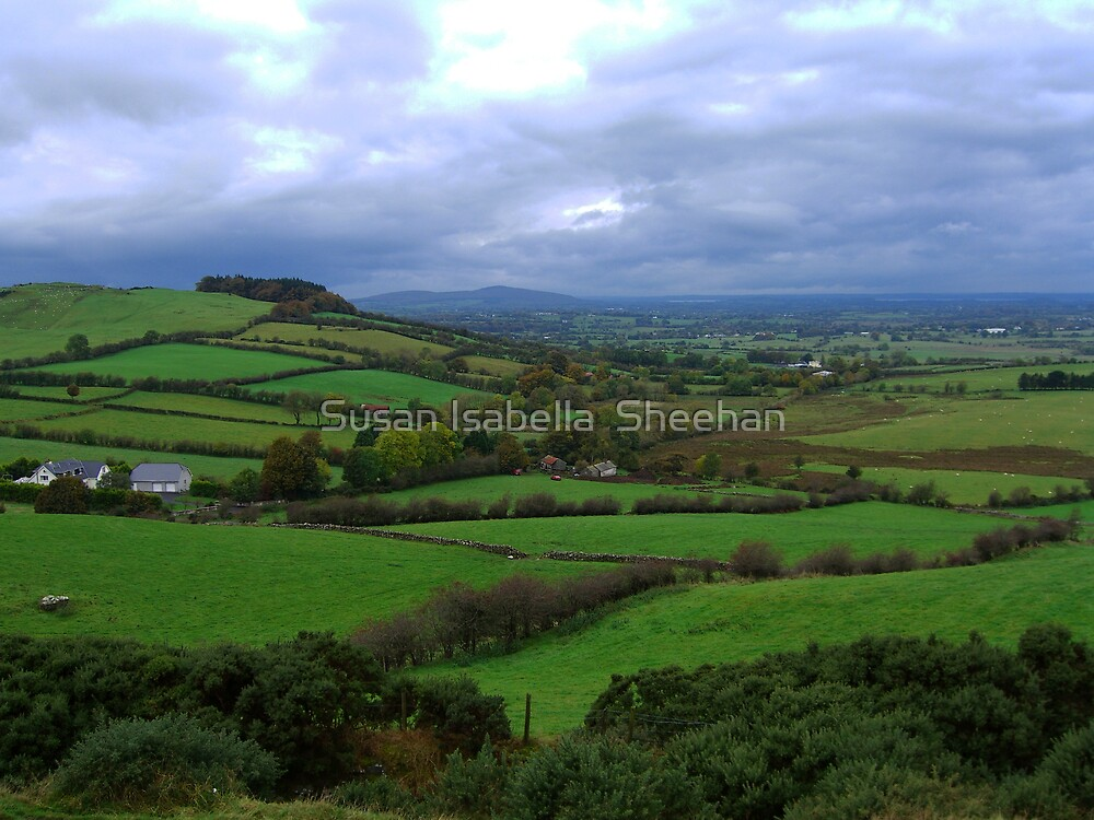 A View From Loughcrew by Susan Isabella  Sheehan