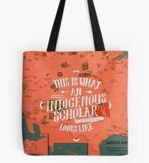 Indigenous Scholar Tote Bag