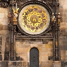 Beneath the Astronomical Clock by Rae Tucker