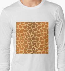 animal skin texture Long Sleeve T-Shirt