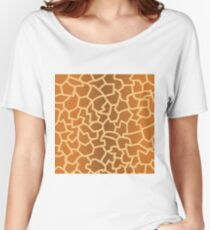 animal skin texture Women's Relaxed Fit T-Shirt