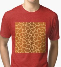 animal skin texture Tri-blend T-Shirt