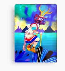 Deer Dancer Metal Print
