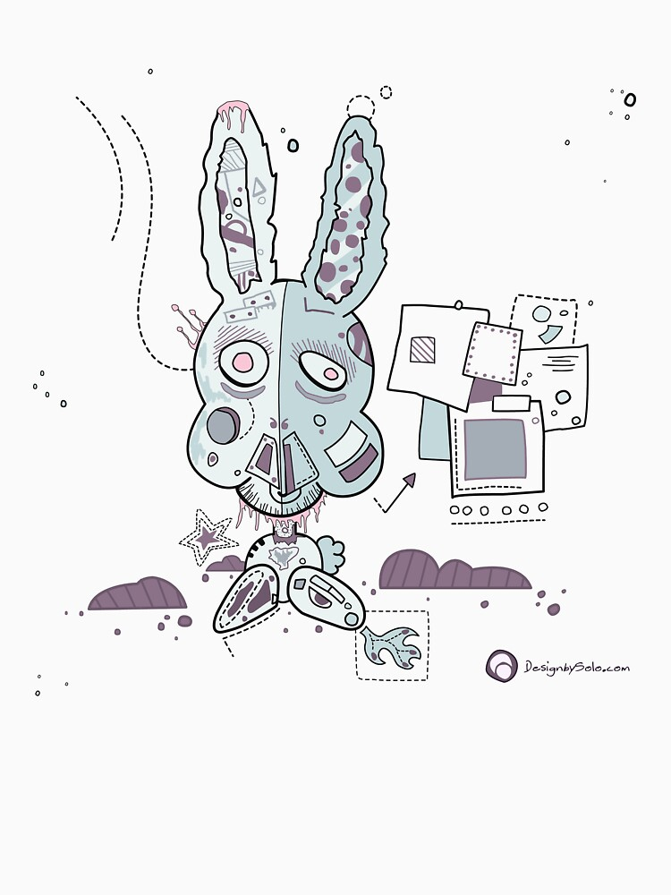 Robot Bunny by DesignbySolo