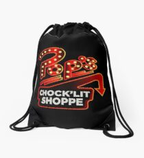 Riverdale Pops Chocklit Shoppe Drawstring Bag