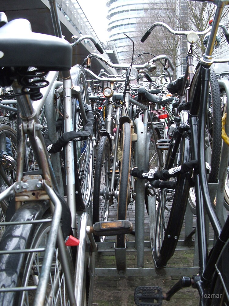 bikes of amsterdam by lozmar