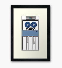 Mainframe Tape Drive Framed Print