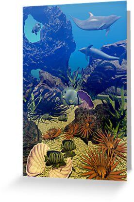 Underwater Sealife by Lisa  Weber