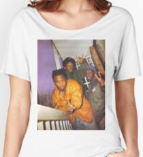 A Tribe Called Quest photo Women's Relaxed Fit T-Shirt