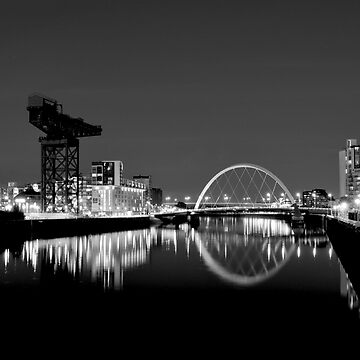 River Clyde, Glasgow, scotland by gregs-celeb-art