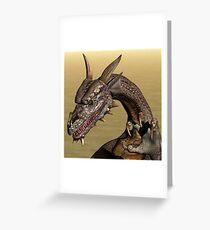 Playful Dragon Greeting Card