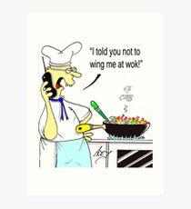 wong wok Art Print