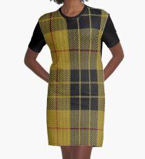 MacLeod of Lewis (Vestiarium Scoticum) Clan/Family Tartan Graphic T-Shirt Dress