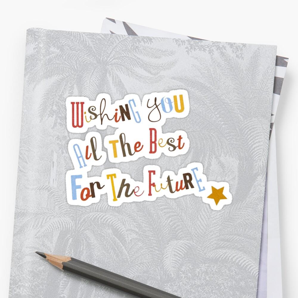 Ich Wünsche Ihnen Alles Gute Für Die Zukunft