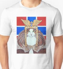 Freya, Goddess of Love & War Cat Unisex T-Shirt