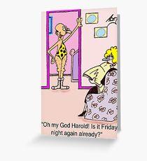 friday night Greeting Card