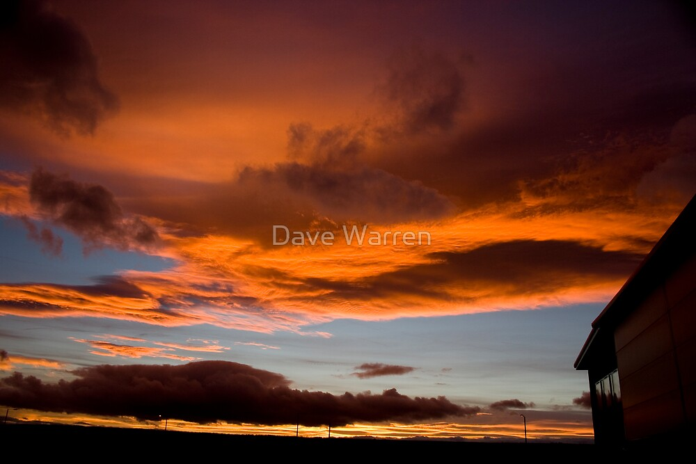 Evening sky2 by Dave Warren
