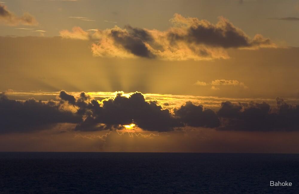 Sunset by Bahoke