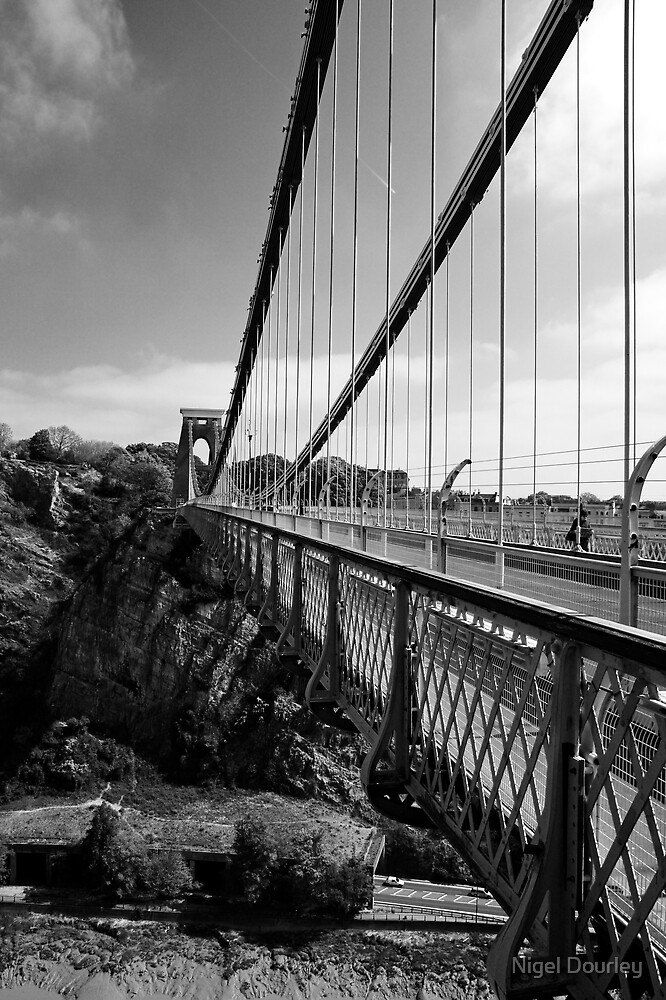 Clifton Suspension Bridge by Nigel Dourley