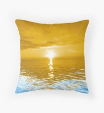 Exploding Star Throw Pillow