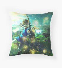 The Legend of Zelda: Breath of the Wild Link Throw Pillow