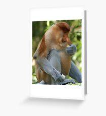 Jimmy Bignose Greeting Card