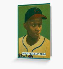 Leroy Satchel Paige Greeting Card