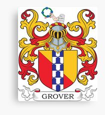 Grover Coat of Arms Canvas Print