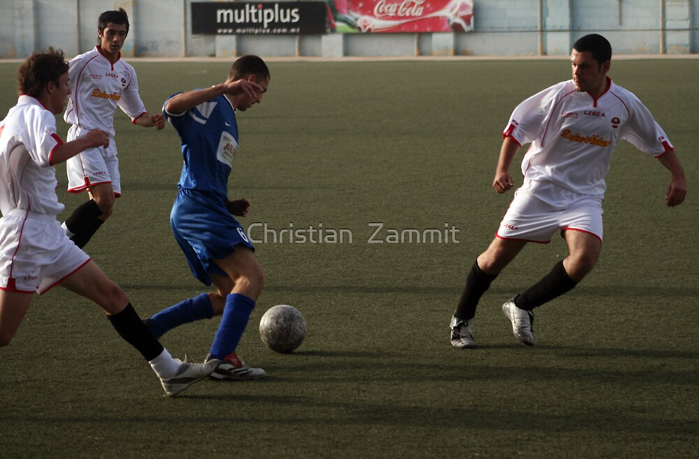Soccer by Christian  Zammit