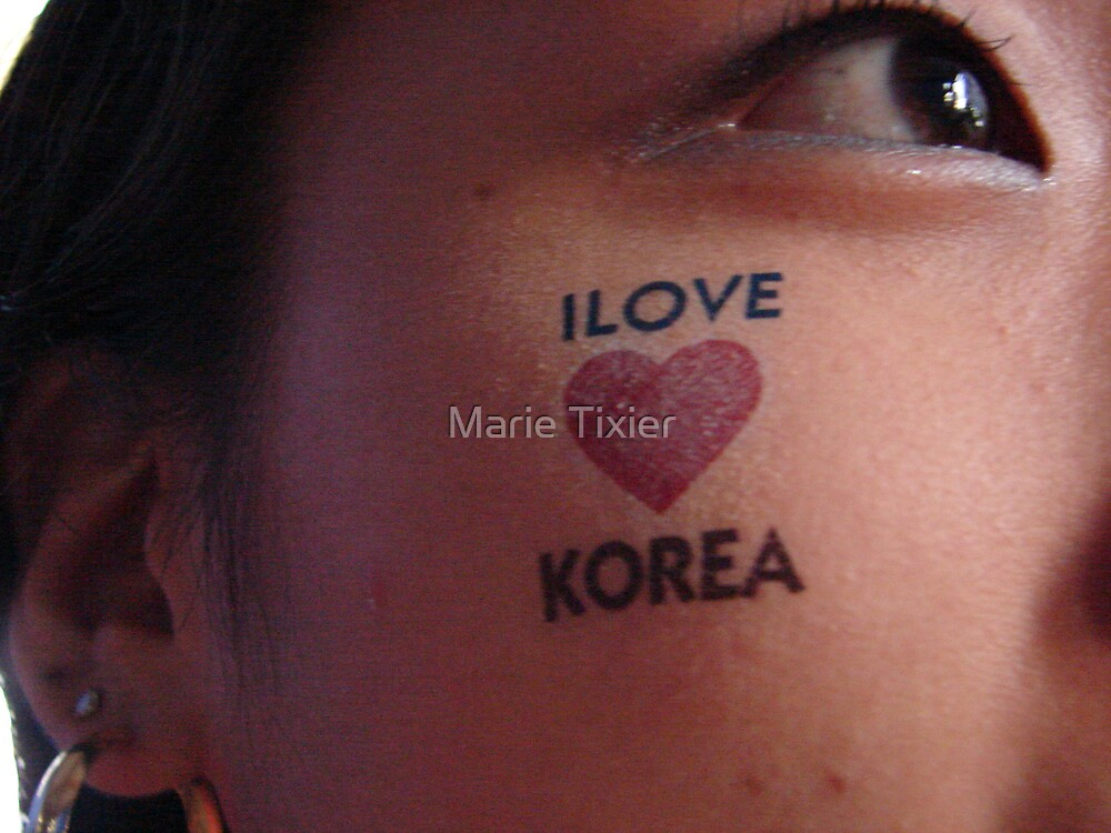 Korean fan GaHee by Marie Tixier