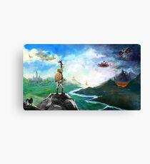 The Legend of Zelda: Breath of the Wild Link Canvas Print