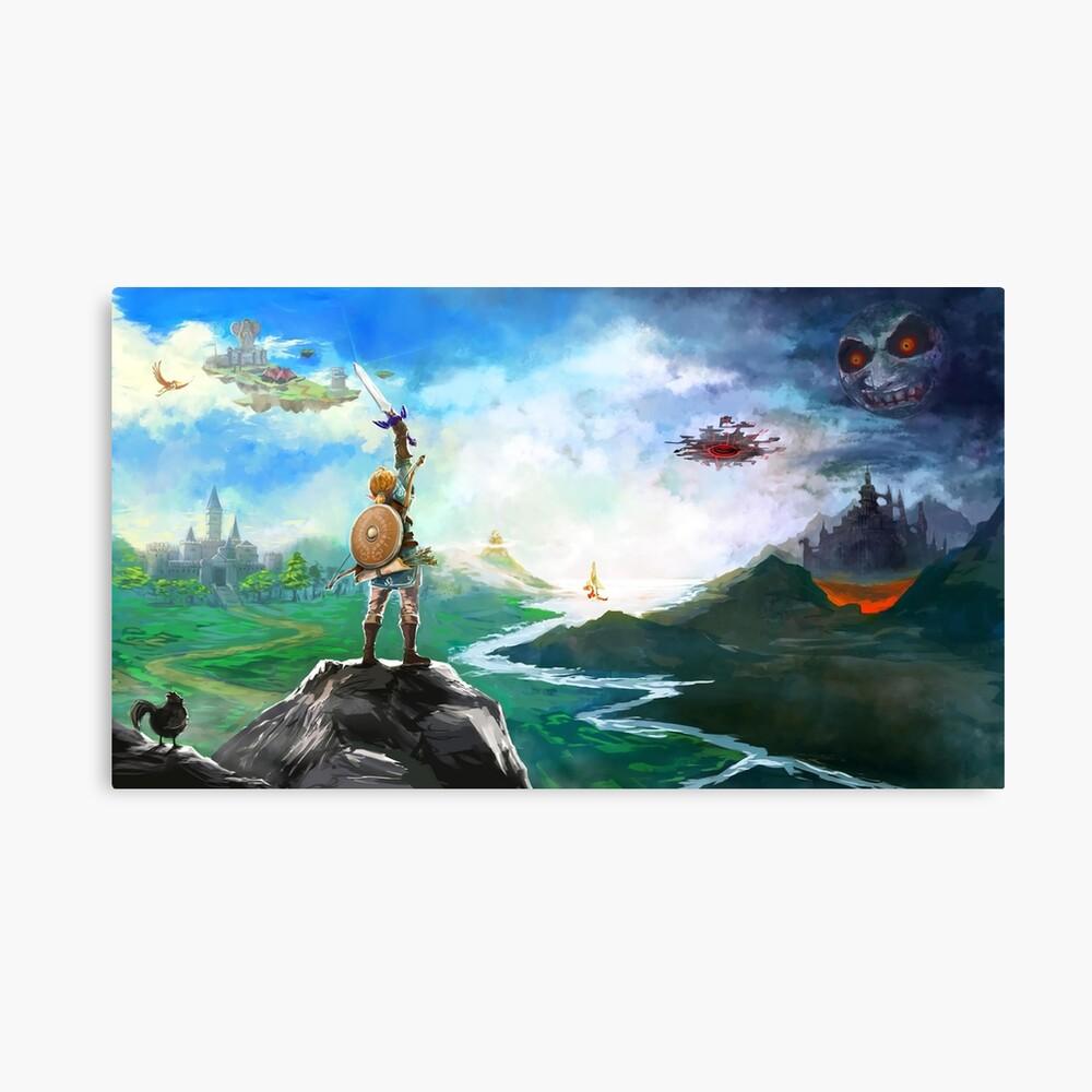 Die Legende von Zelda: Atem der Wildnis Link Leinwanddruck