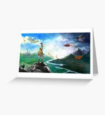 The Legend of Zelda: Breath of the Wild Link Greeting Card