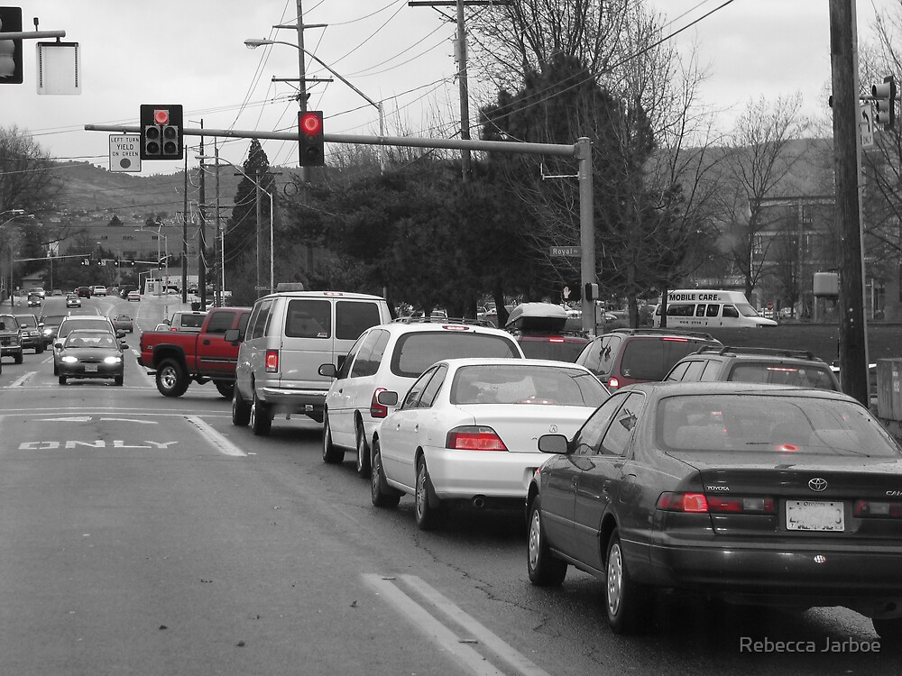 A Moment in Traffic by Rebecca Jarboe