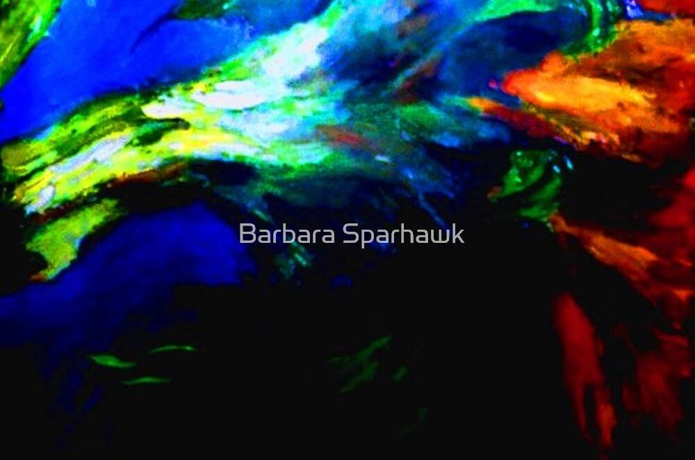 Sunflower Stalk by Barbara Sparhawk