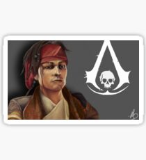 The Pirate Son Sticker