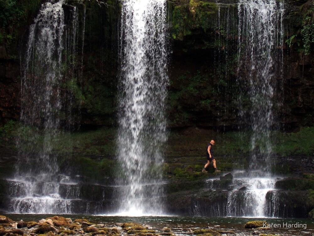 Behind the Falls by Karen Harding