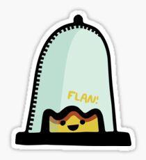 Fun Flan Sticker
