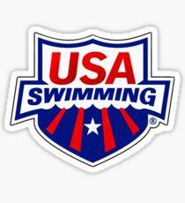 Team USA Swimming Sticker
